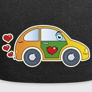 Kids Car Toy Car heart colorful merry children - Jersey Beanie