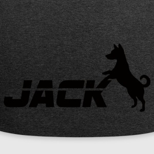 Hund / Jack Russell: Jack - Jersey-Beanie