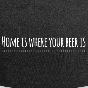 home is where your beer is - weiss - Jersey-Beanie