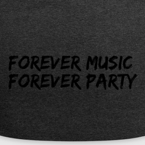 sempre party music forever - Beanie in jersey