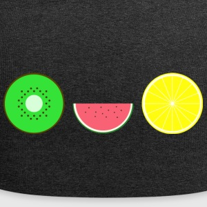 DIGITAL FRUITS - Hipster KIWI MELONE ZITRONE - Jersey-Beanie