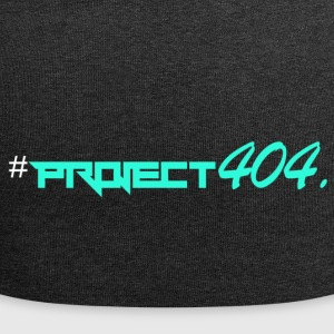 project404 final teal white - Jersey Beanie