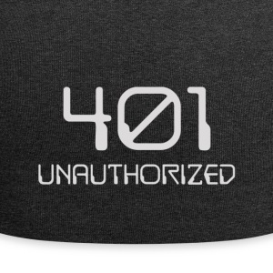401- unauthorized light - Jersey Beanie