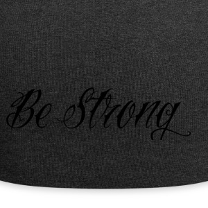 Be_Strong_ - Beanie in jersey