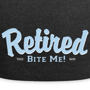 Retired Bite Me! - Jersey Beanie