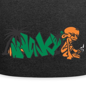 monkey graffiti - Bonnet en jersey