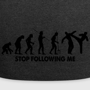 Evolution Stop Following Me - Jersey Beanie