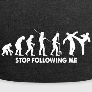 Evolution Stop Following Me Kampfsport Shirt - Jersey-Beanie