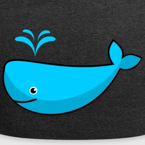 whale15 - Jersey-Beanie