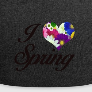 I LOVE SPRING FLORAL - Jersey-Beanie