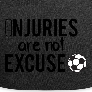 Football: Injuries are not excuse! - Jersey Beanie