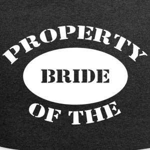 Just Married Property of The Bride - Jersey Beanie