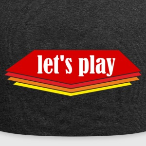 Let ' s play - Jersey Beanie