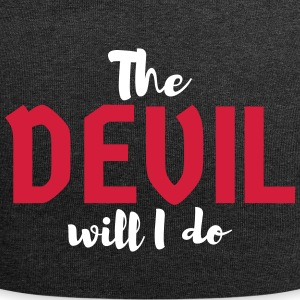 The devil will I do - Jersey Beanie