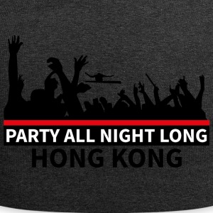 HONG KONG - Party All Night Long - Beanie in jersey