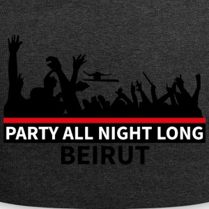 Party All Night Long Beirut - Jersey Beanie