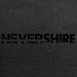 Nevershire lettering black - Jersey Beanie