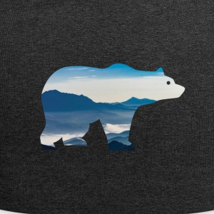 Bear in mountains - Jersey Beanie