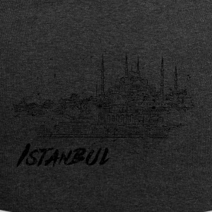 Istanbul - city view sketch - Jersey Beanie