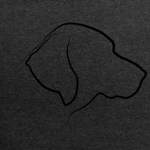 silhouette Labrador - Beanie in jersey