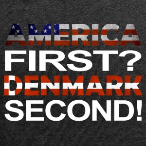 America first second Denmark - Jersey Beanie