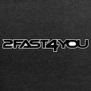 2Fast4You - Bonnet en jersey