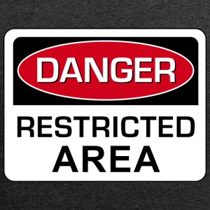 Danger Restricted Area - Jersey-Beanie