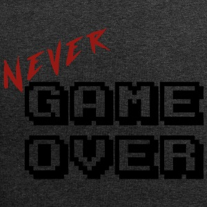 Nooit game over transparante - Jersey-Beanie