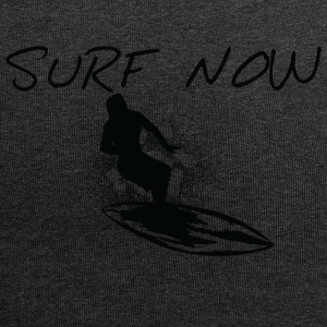 Surf now girl black - Jersey Beanie