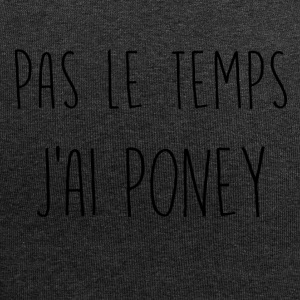 pas le temps poney - Bonnet en jersey