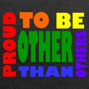 proud to be other than others gay - Jersey Beanie