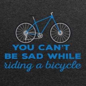 Bike: You can't be sad while riding a bicylce. - Jersey Beanie
