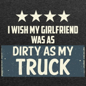 Trucker / Truck Driver: I Wish My Girlfriend Was As - Jersey Beanie