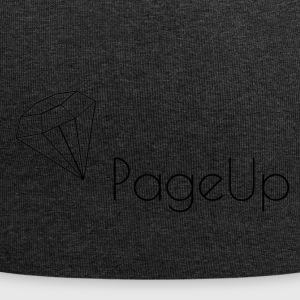 Snapback con PageUp Diamante - Beanie in jersey