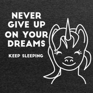 Einhorn - Never give up on your Dreams! - Jersey Beanie