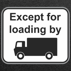 Road sign Except load by - Jersey Beanie
