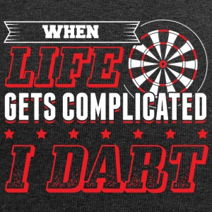 DART WHEN LIFE GETS COMPLICATED - Jersey Beanie