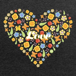 Heart of blomster - Summer Love - Jersey-Beanie