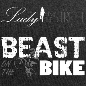 Lady in the Street - Beast on the bike! - Jersey Beanie