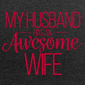 Wedding / Marriage: My Husband has an awesome Wife - Jersey Beanie