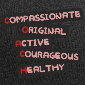 Coach / Trainer: Compassionate, Original, Active, - Jersey Beanie