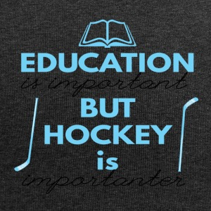 Hockey: Education is important but hockey is - Jersey Beanie