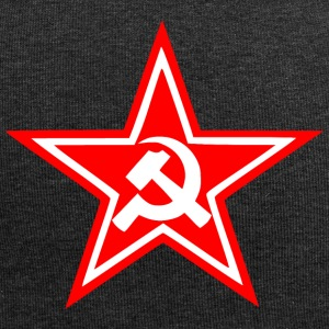Communist red star flag - Jersey Beanie