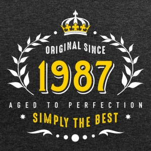 original since 1987 simply the best 30th birthday - Jersey Beanie