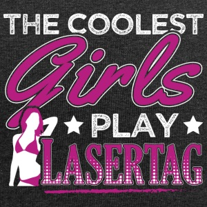 COOLEST GIRLS PLAY LASERTAG - Jersey Beanie