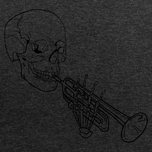 Skeleton with Trumpet - Jersey Beanie