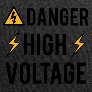 Elektriker: Fare! High Voltage! - Jersey-beanie
