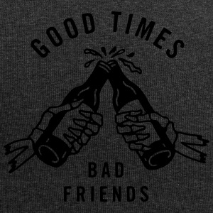 good times bad friends - Jersey-Beanie