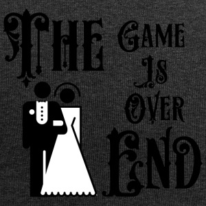 Just Married The Game is over het einde - Jersey-Beanie