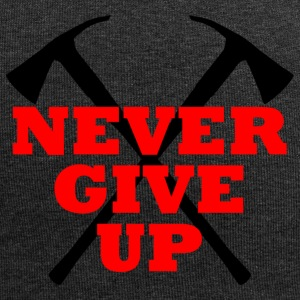 Never Give Up - Jersey-Beanie